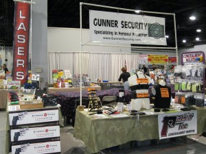 Gunner Security Booth Denver Gun Shows