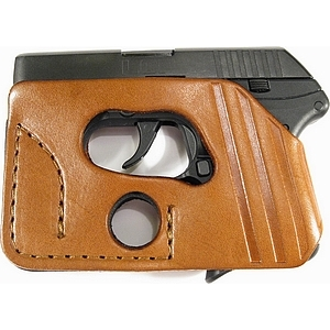 CCW Wallet Holster LCP - Side - Brown