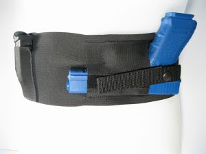 Belly Band Holster for Concealed Carry - Horizontal or