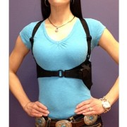 Lotus Shoulder Holster - Front