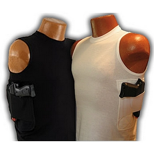Packin Tee Gun Shirt Concealed Carry Crew Neck T-Shirt Holster Included