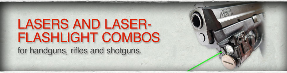 Lasers and Laser-Flashlight Combos