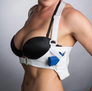Women's-Shoulder-Holster-White