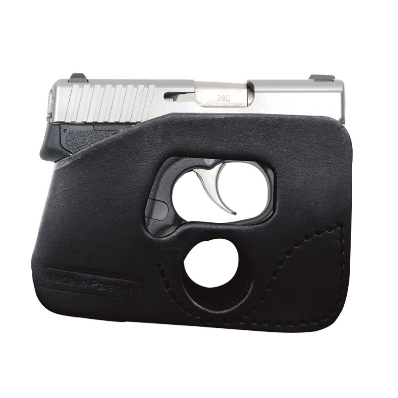 Ulitmate Concealed Carry Small of the back Leather Gun Holster For