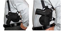 Horz vert shoulder holster rig